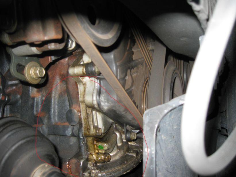toyota camry oil leak oil leak 96 camry 5sfe toyota. Black Bedroom Furniture Sets. Home Design Ideas
