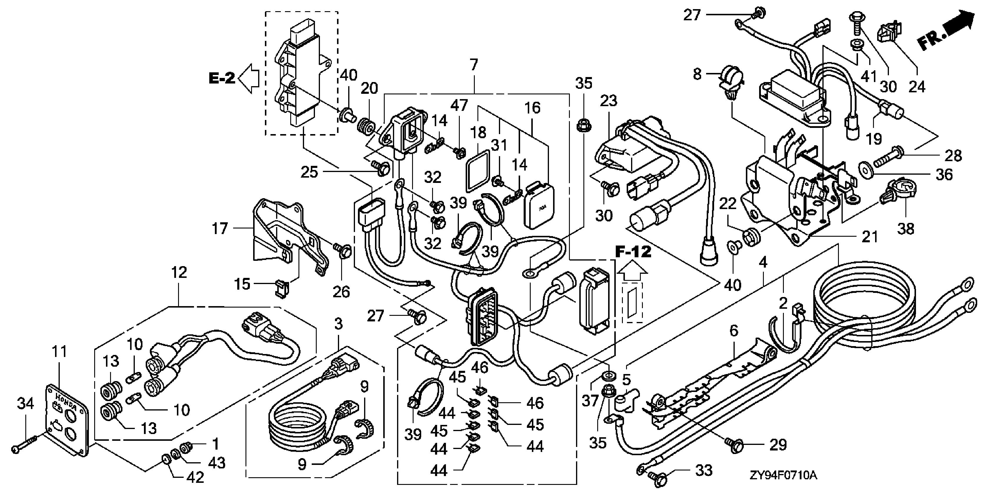 kubota b2410 wiring diagram