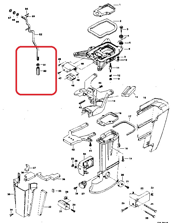 chrysler 15 hp diagram 1989 15 hp evinrude fuel pump diagram wiring