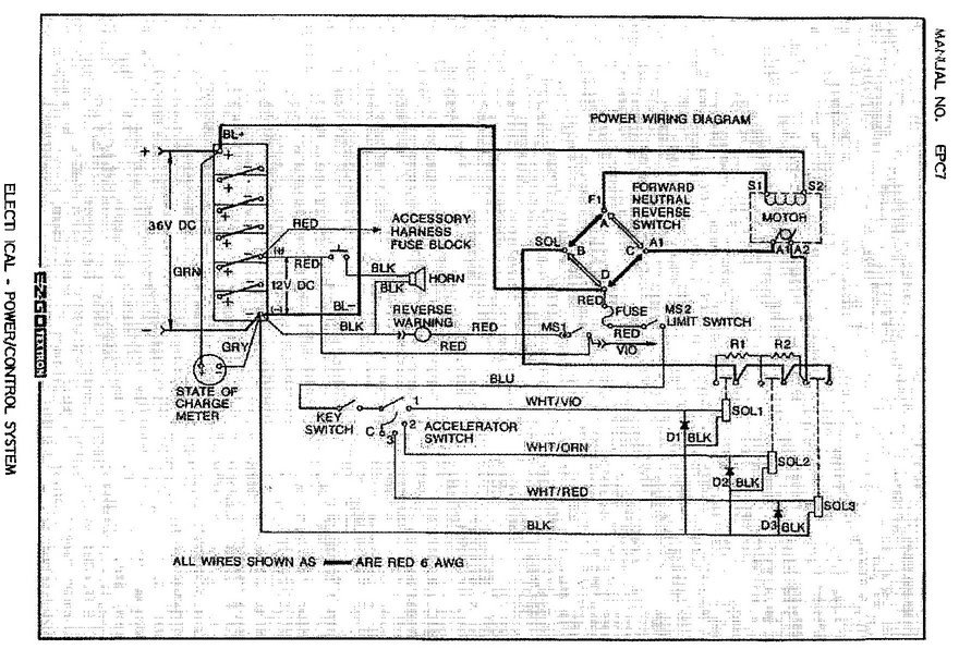 e z go wiring diagram all wiring diagram Ezgo 95 Medalist Wiring-Diagram