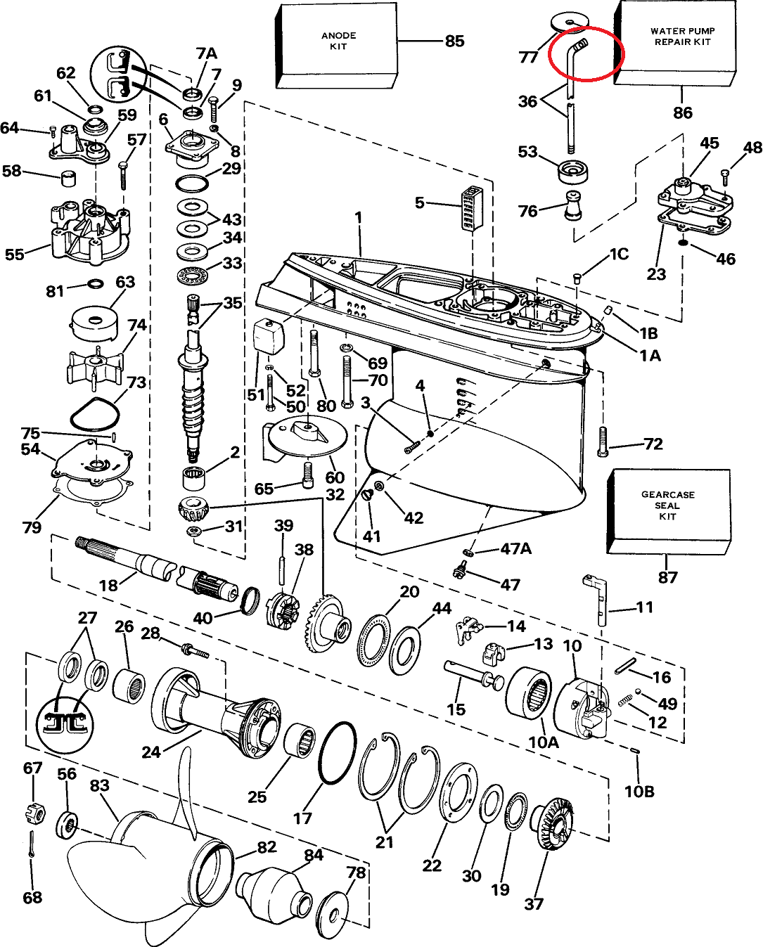 evinrude xp 150 wiring diagram