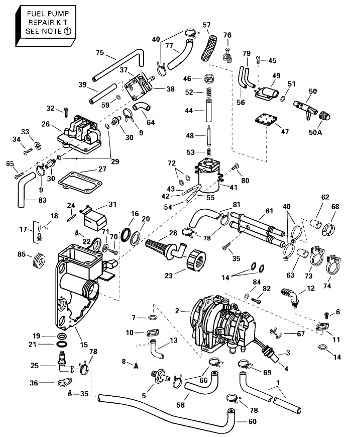 2000 25 hp johnson outboard lower unit diagram  2000  free engine image for user manual download