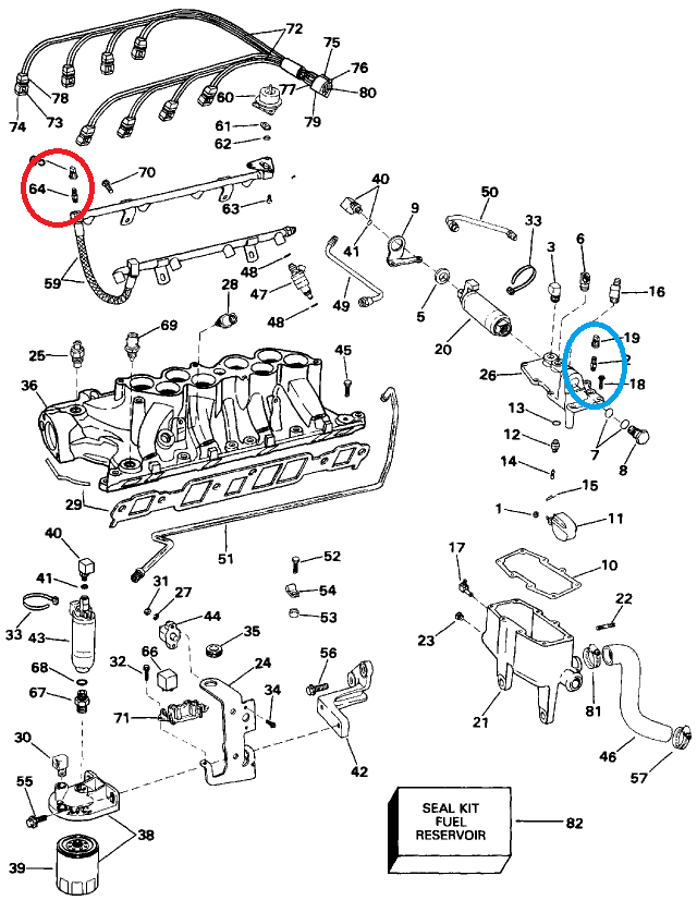 Wiring Diagram For Four Winns Boat : Re four winns vista ford liter v engine
