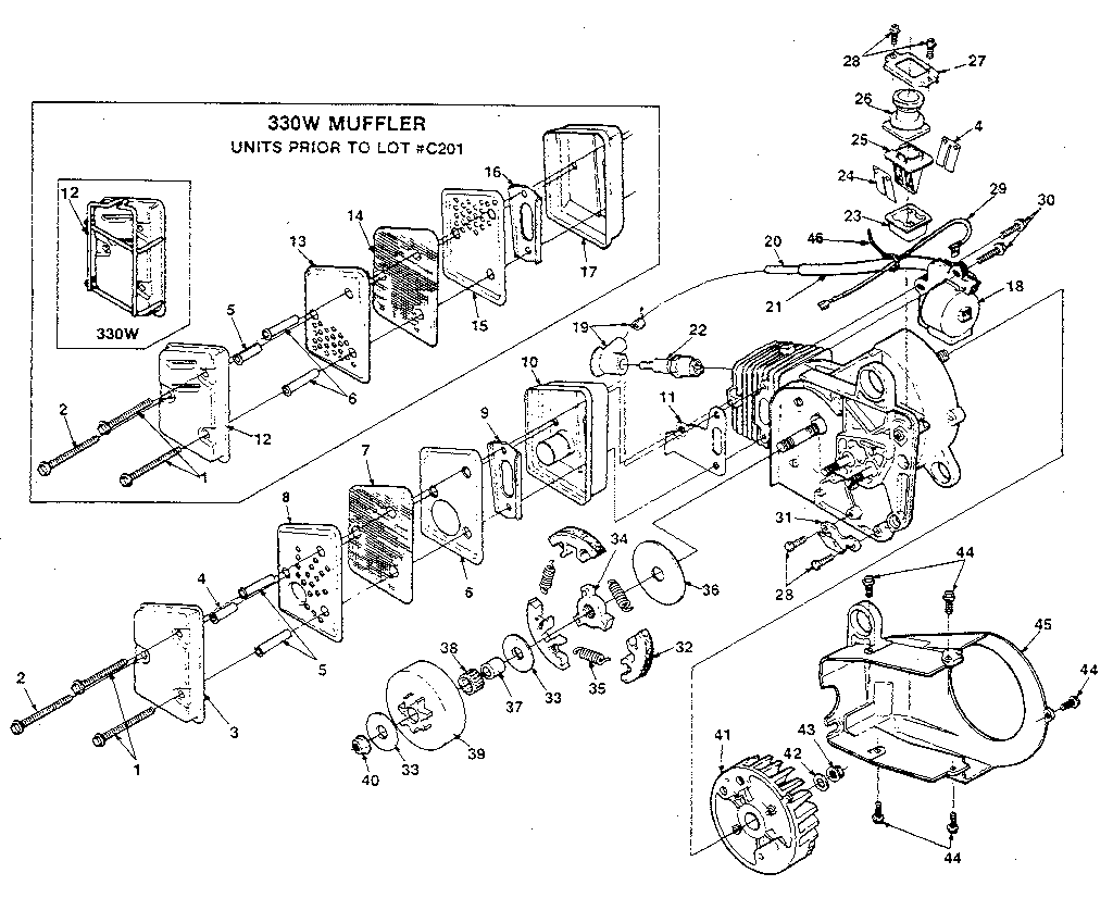 Homelite HCS3335A moreover Listings moreover Tecumseh Small Engine Wiring Diagram in addition Wiring Diagram Murray Lawn Mower My Tractor Cranks But Wont Start I Dont Believe The Throughout Starter Solenoid For And Craftsman also Stihl Chainsaw Carburetor Troubleshooting Chart. on john deere 330 parts diagram