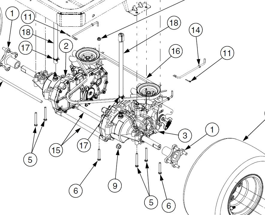 28 Cub Cadet Rzt 50 Belt Diagram