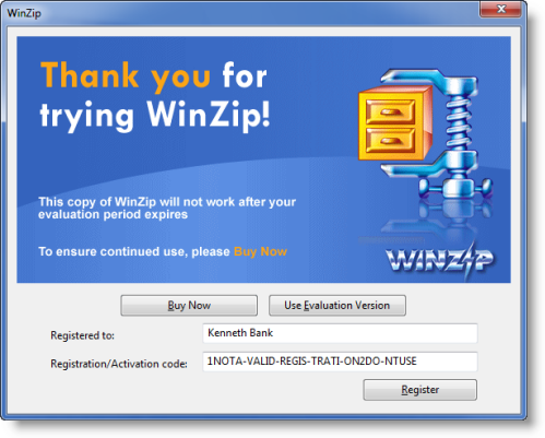 Free activation key for winzip 16. 5 the best free software for.