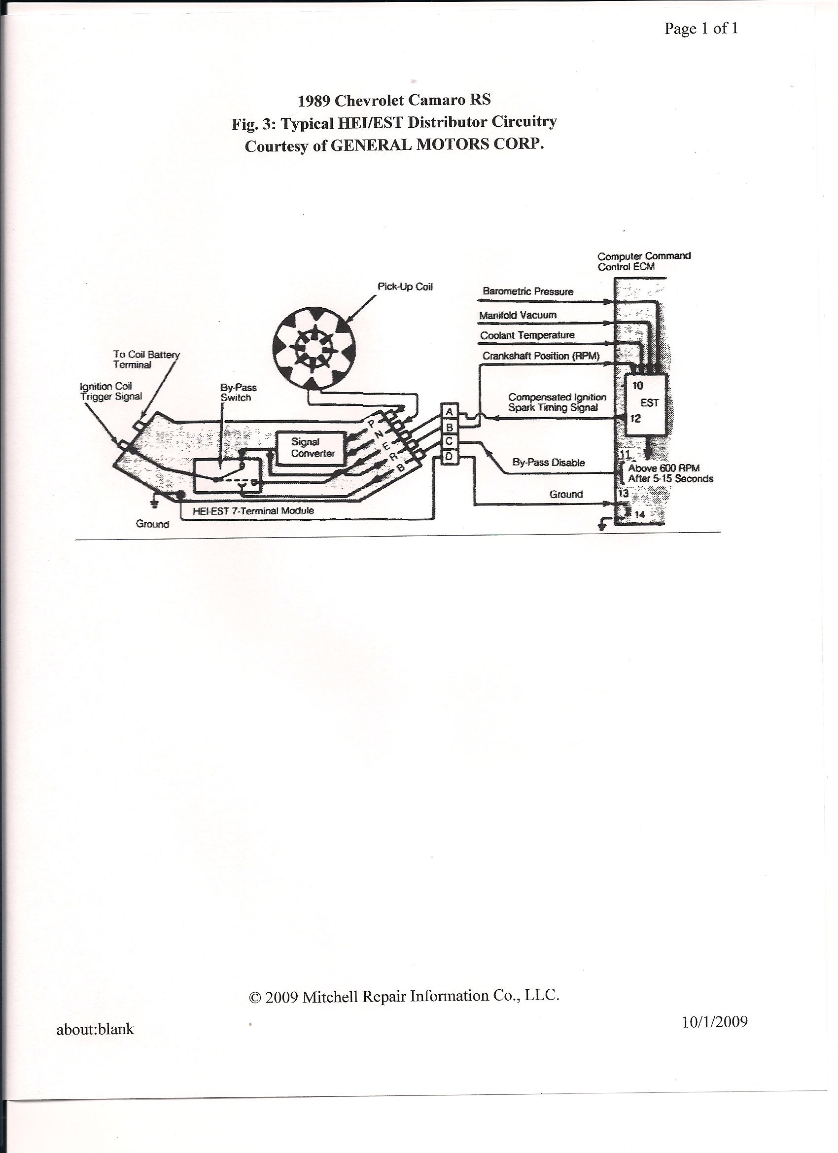 1978 Camaro Wiring Diagram Rpm Tach