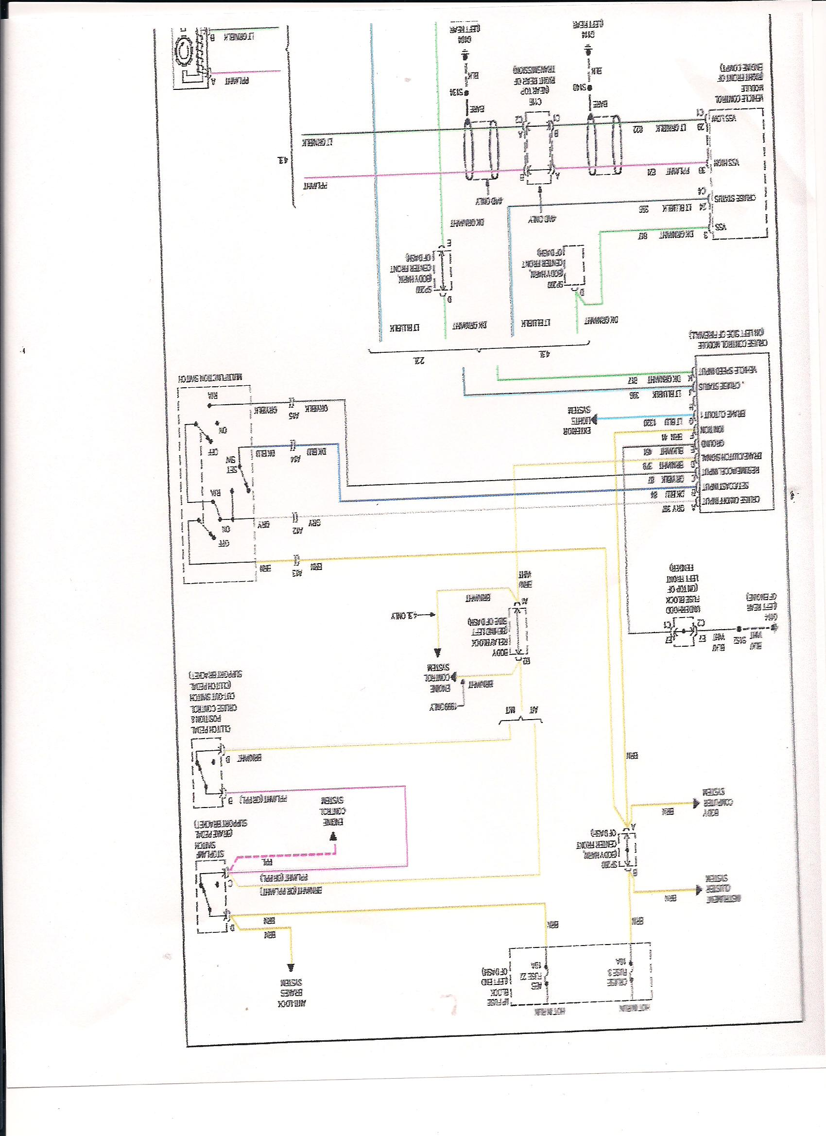 2000 chevy cruise wiring looking for vss and tach wires
