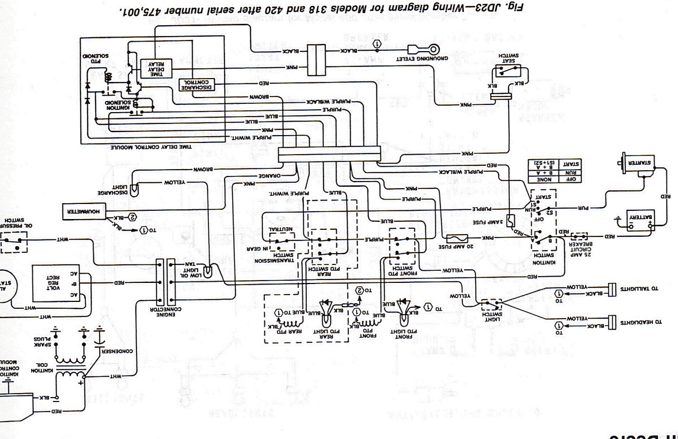 john deere 318 engine diagram john deere 318 wiring