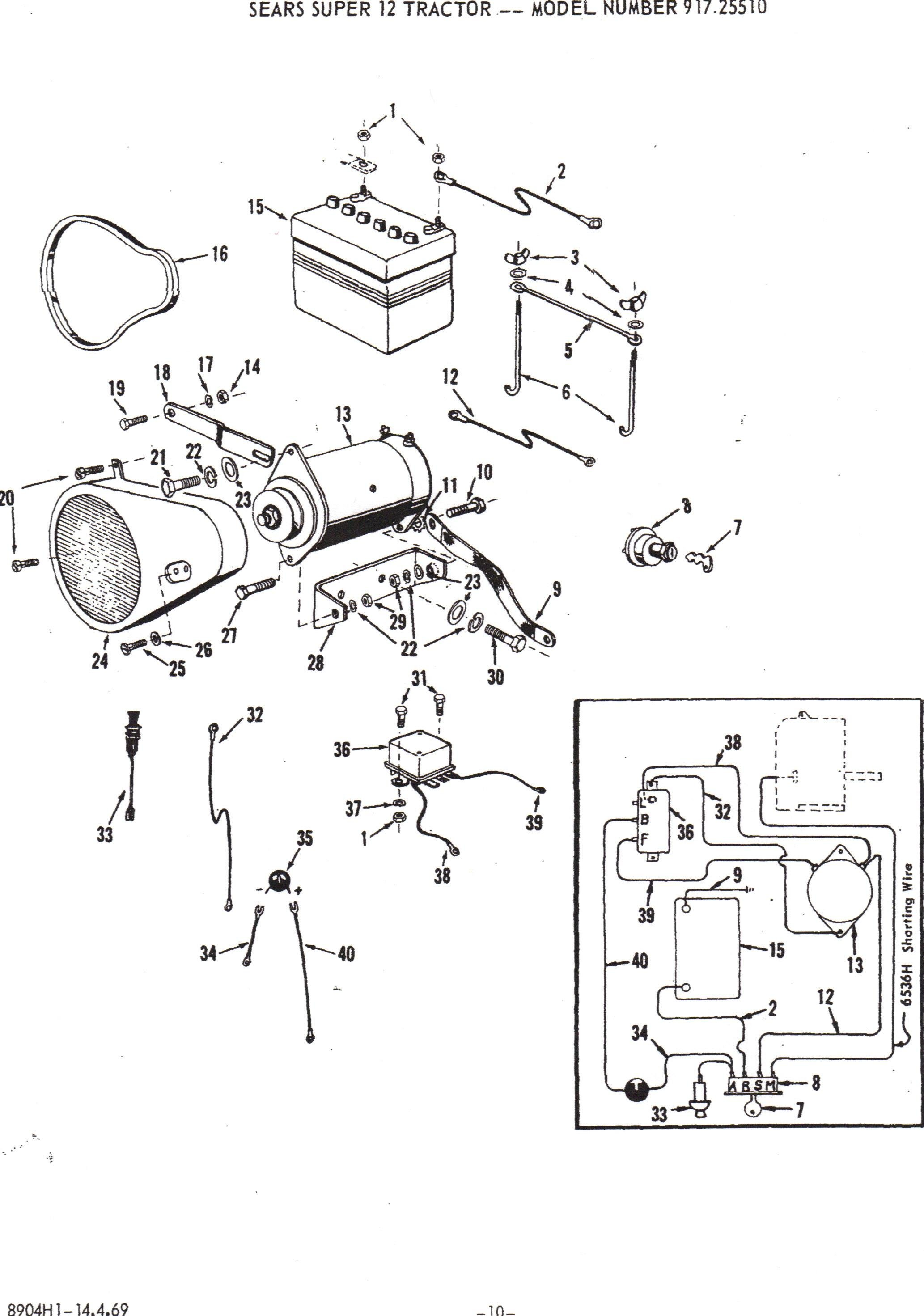 Sears Wiring Diagram Will Be A Thing Lawn Tractor Images Of Ss12 Engine Diagrams Thermostat