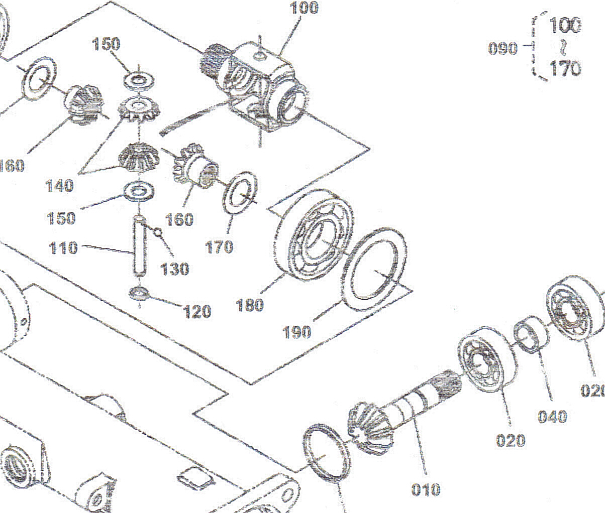Kubota Front End Schematic : I have kubota bx leaking front axle fluid between