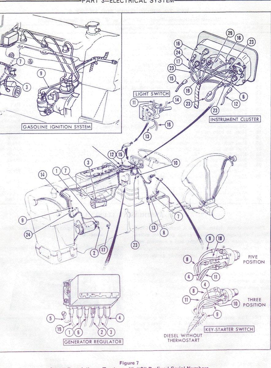 i changedthe regulator and generaton on my 1980 85 ford. Black Bedroom Furniture Sets. Home Design Ideas