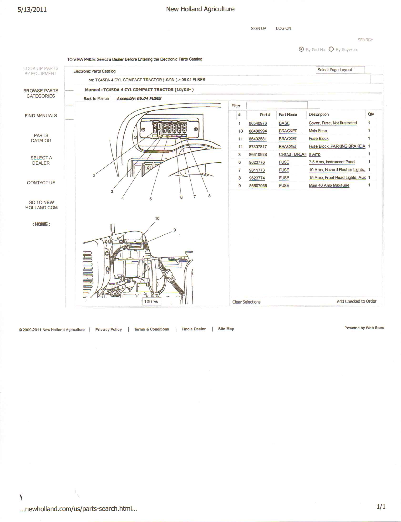 New Holland 850 Wiring Diagram Great Design Of Ford 3230 Tractor Also Polaris Sportsman Diagrams On Ts110