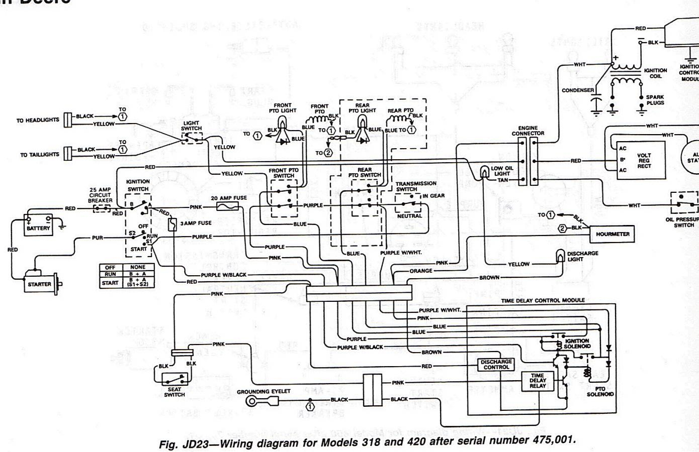 Deere After on Dodge Ignition Wiring Schematic