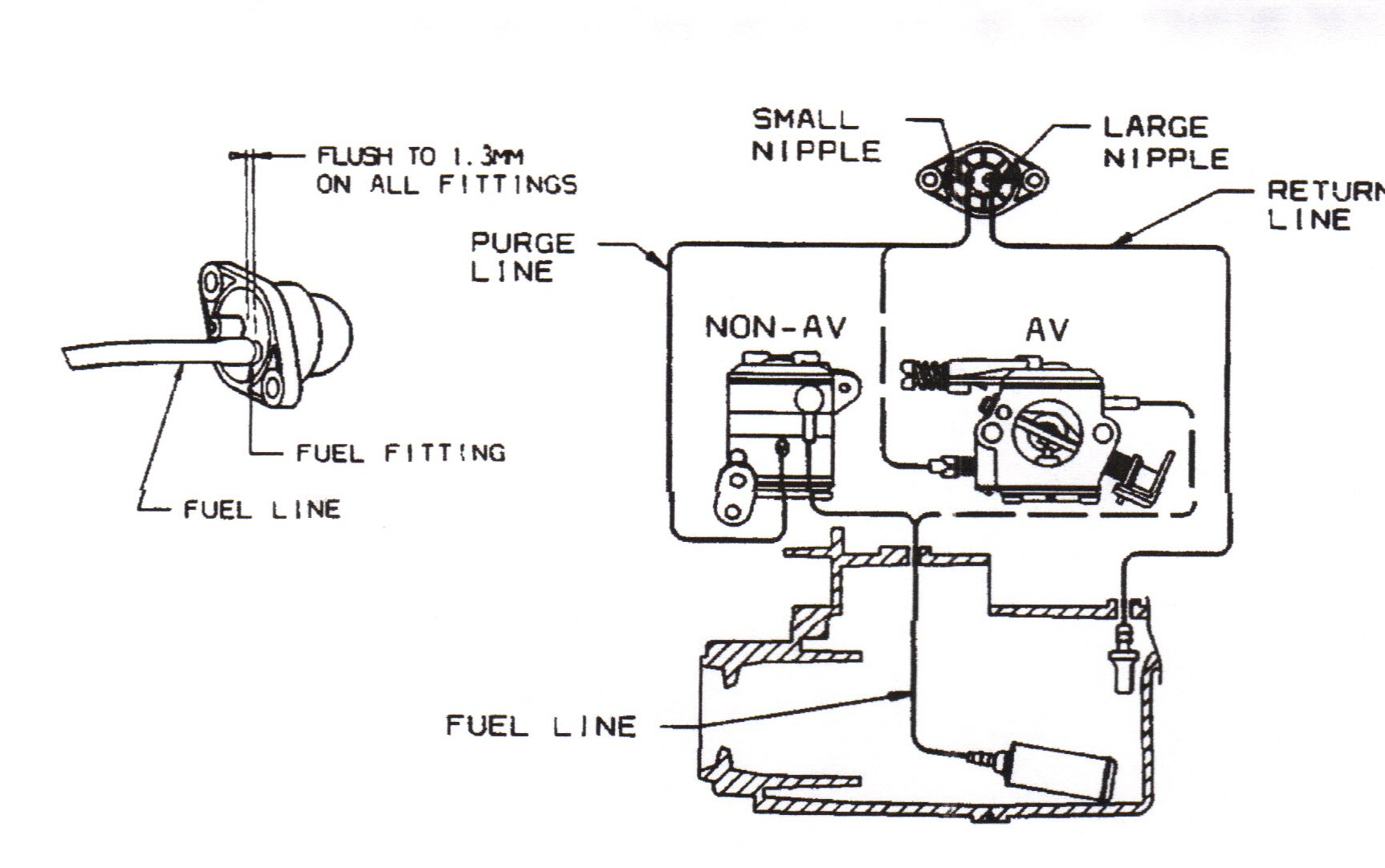 craftsman lawn tractor wiring schematic with 5v400 Husqvarna 338xpt Chainsaw Need Fuel Line Diagram Cannot on Small Engine Starter Solenoid Wiring Diagram in addition Wiper Linkage Bushings 71047 additionally 49829 How Install  er Meter Gauge additionally Schematic Of Pto Tractor moreover 3047890.