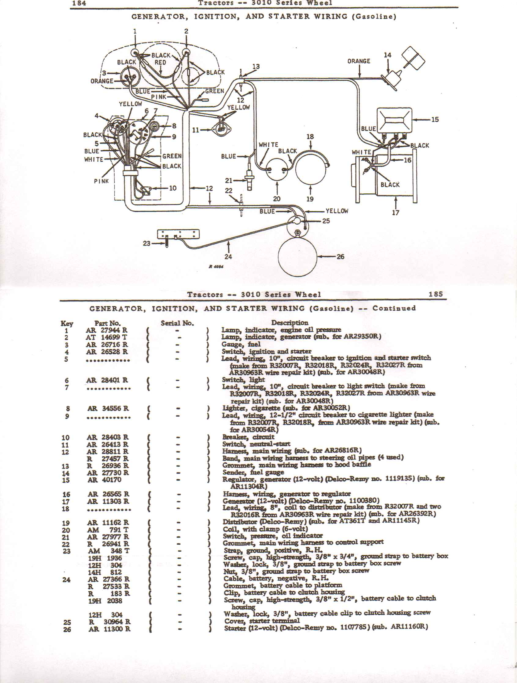 john deere 4020 24v to 12v conversion wiring diagram john wiring diagram for 4020 john deere tractor the wiring diagram on john deere 4020 24v to