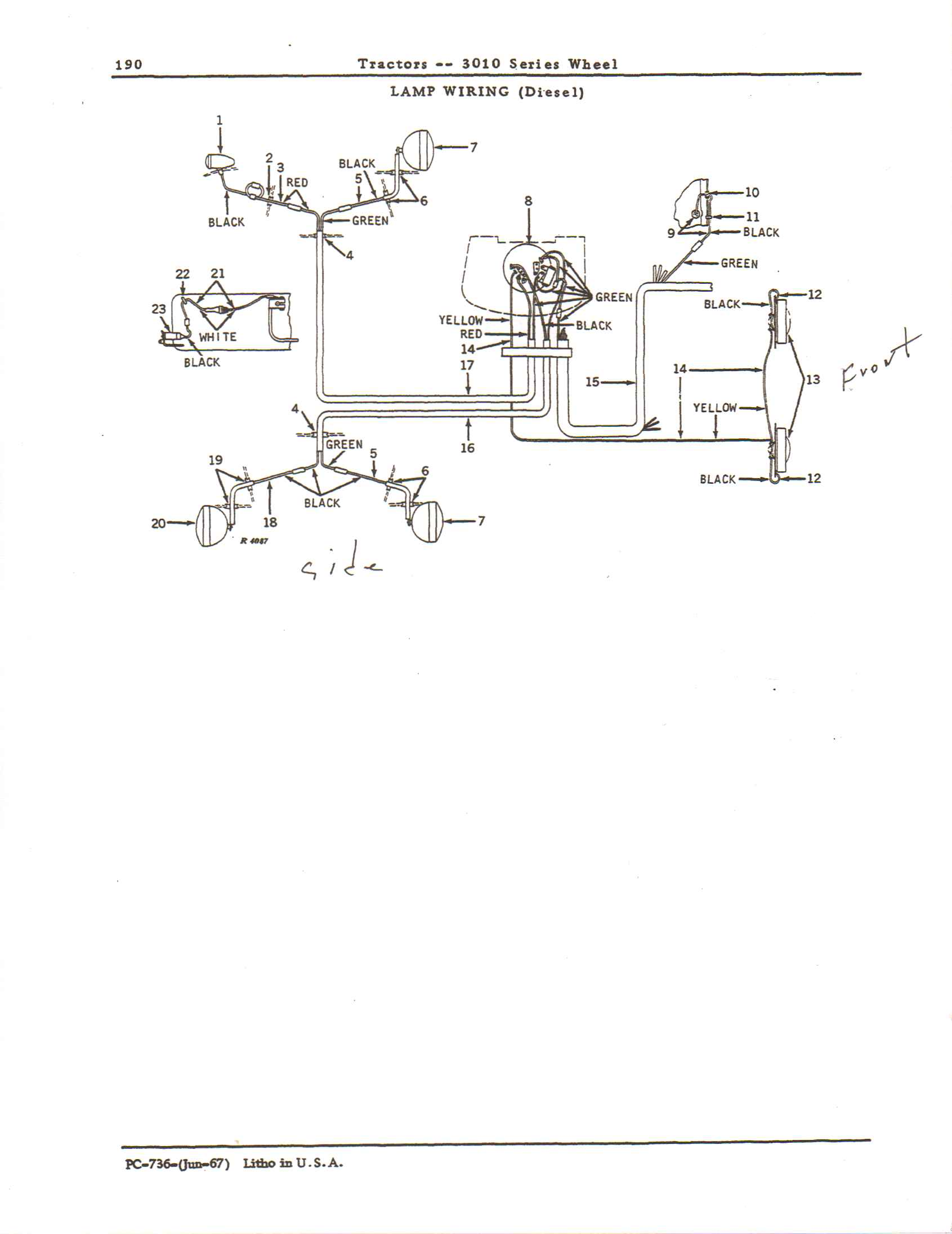 know how to rewire the lights i a wiring diagram to help me welcome to just answer heavy equipment years of experience i look forward to doing my best to help