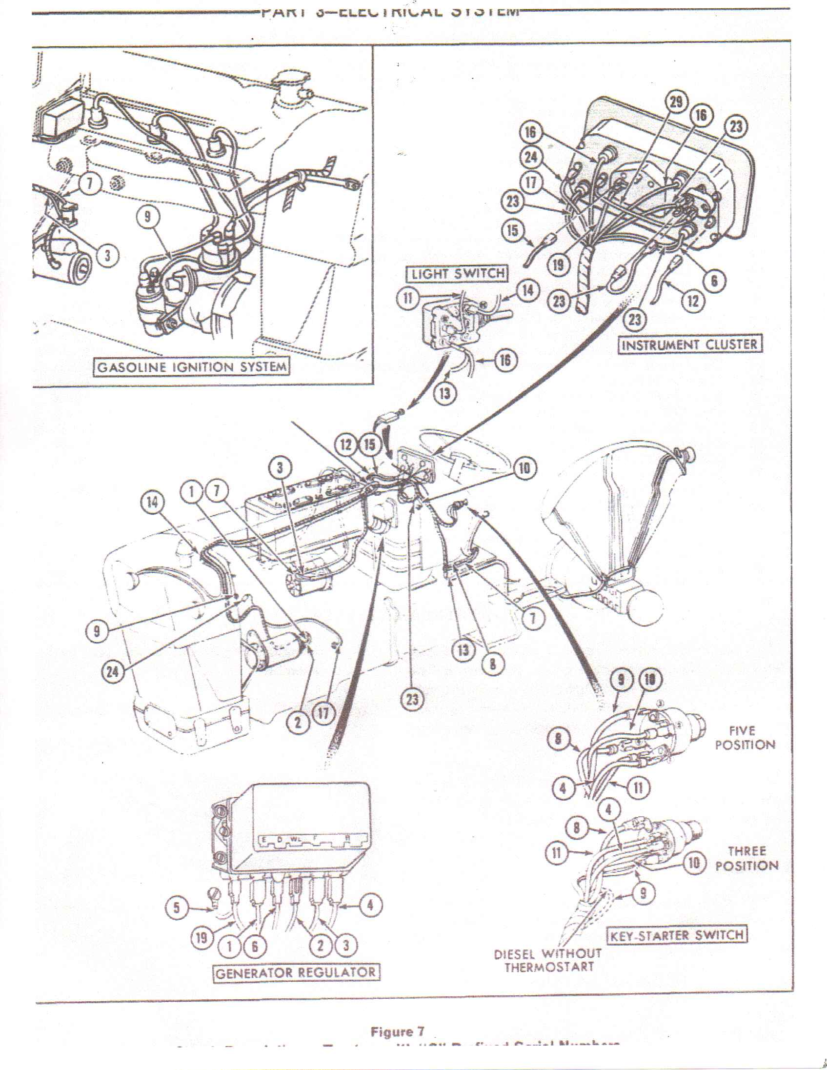 Wiring Diagram Ford 3000 Diesel Tractor Starter Autos Post