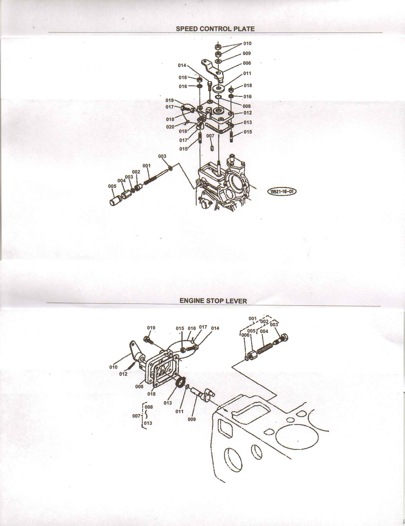 Kubota D722 Parts Diagram Com
