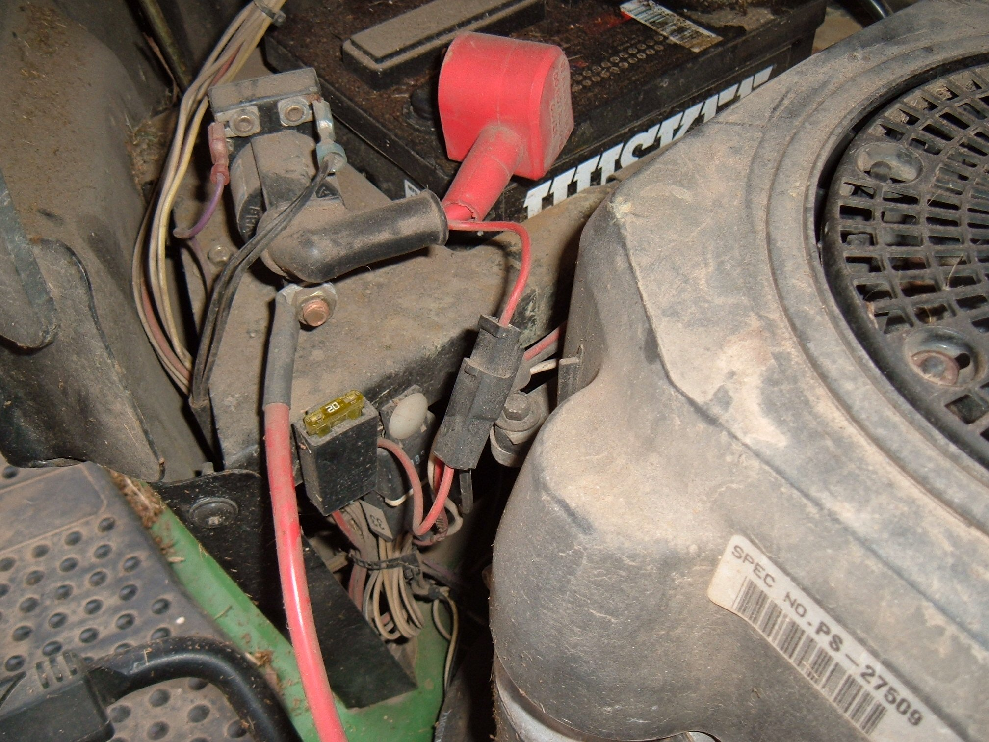 i have john deere model the pto would not engage full size image
