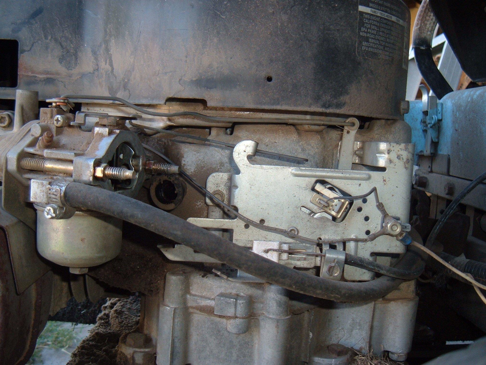 Briggs Series Linkage on Briggs And Stratton 8hp Carburetor Diagram