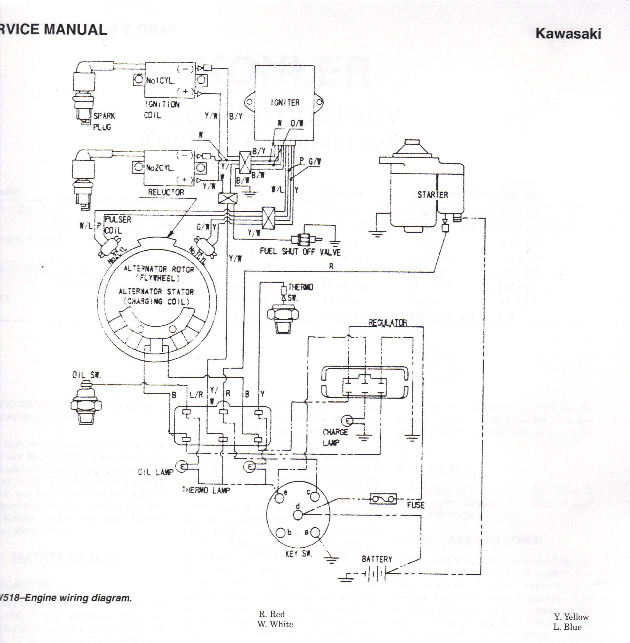 8 horse kohler small engine wiring diagram