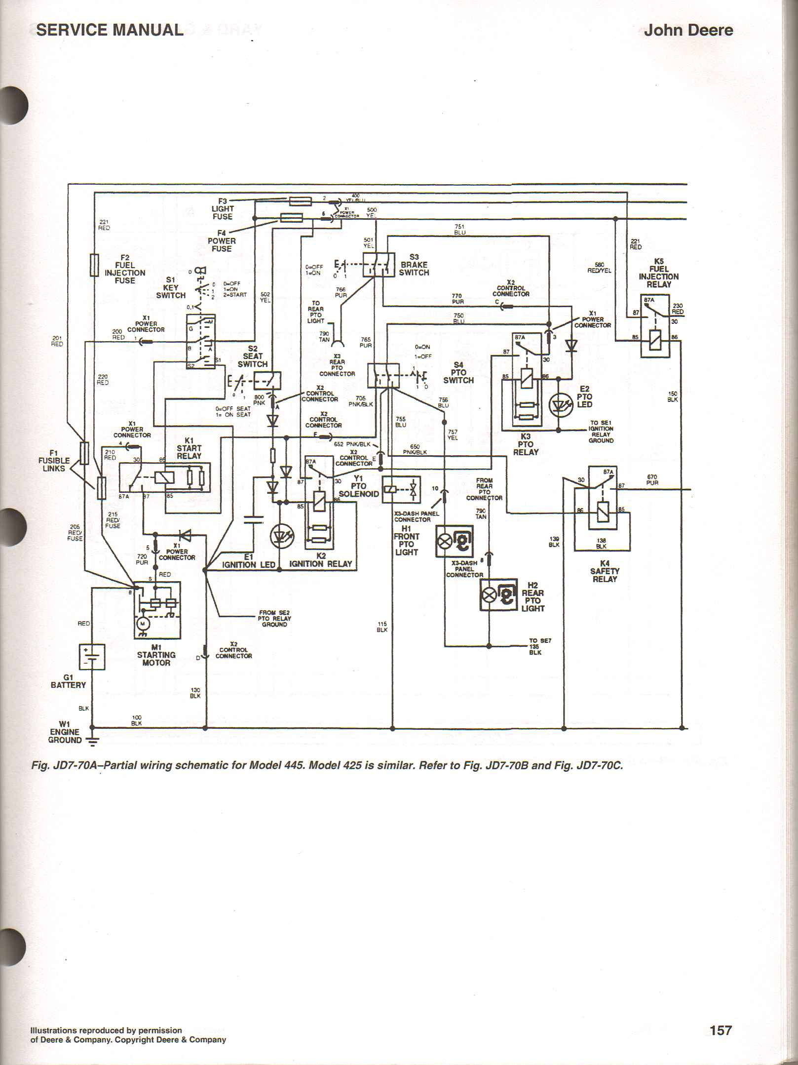 John Deere 345 Wiring Diagram on john deere wiring schematics