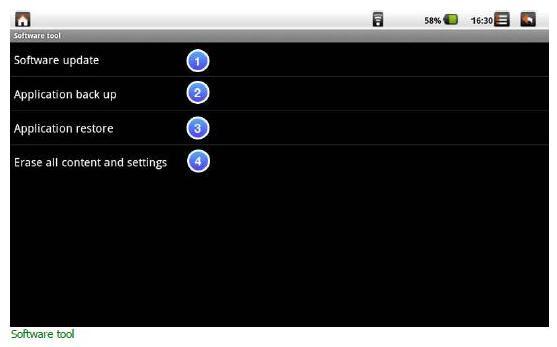 Viewpad 10s - software tool