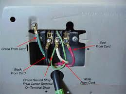 How to hook up prong dryer cord