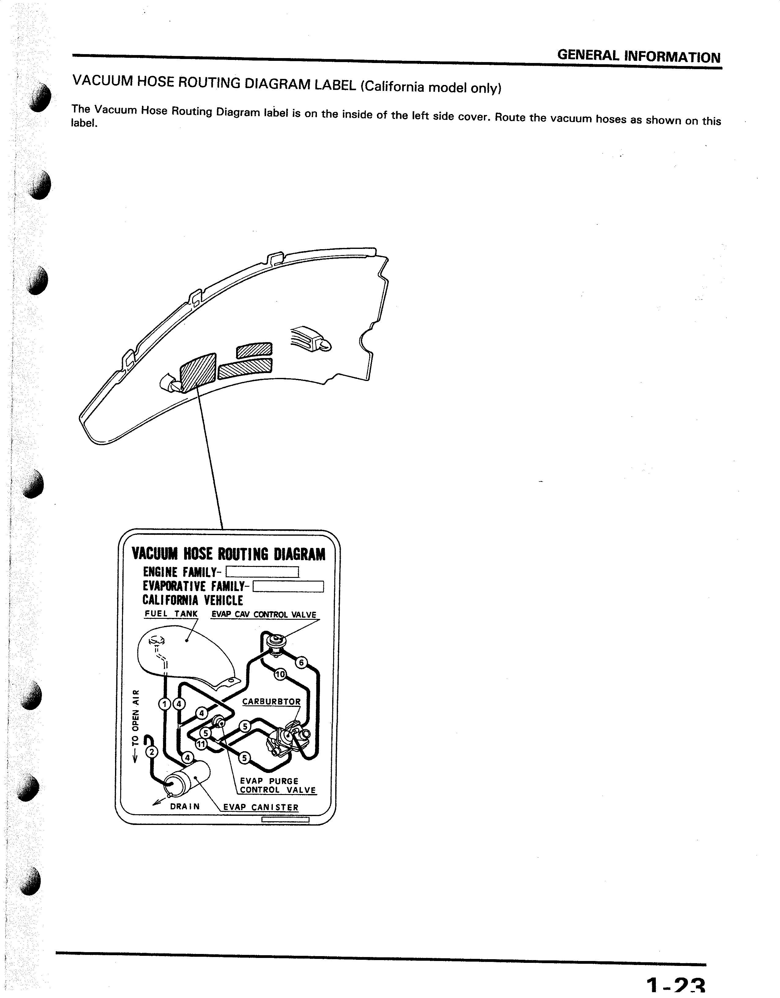 honda shadow carburetor hose diagram honda image 93 honda the vacuum and pressure air hoses control valve purge on honda shadow carburetor hose