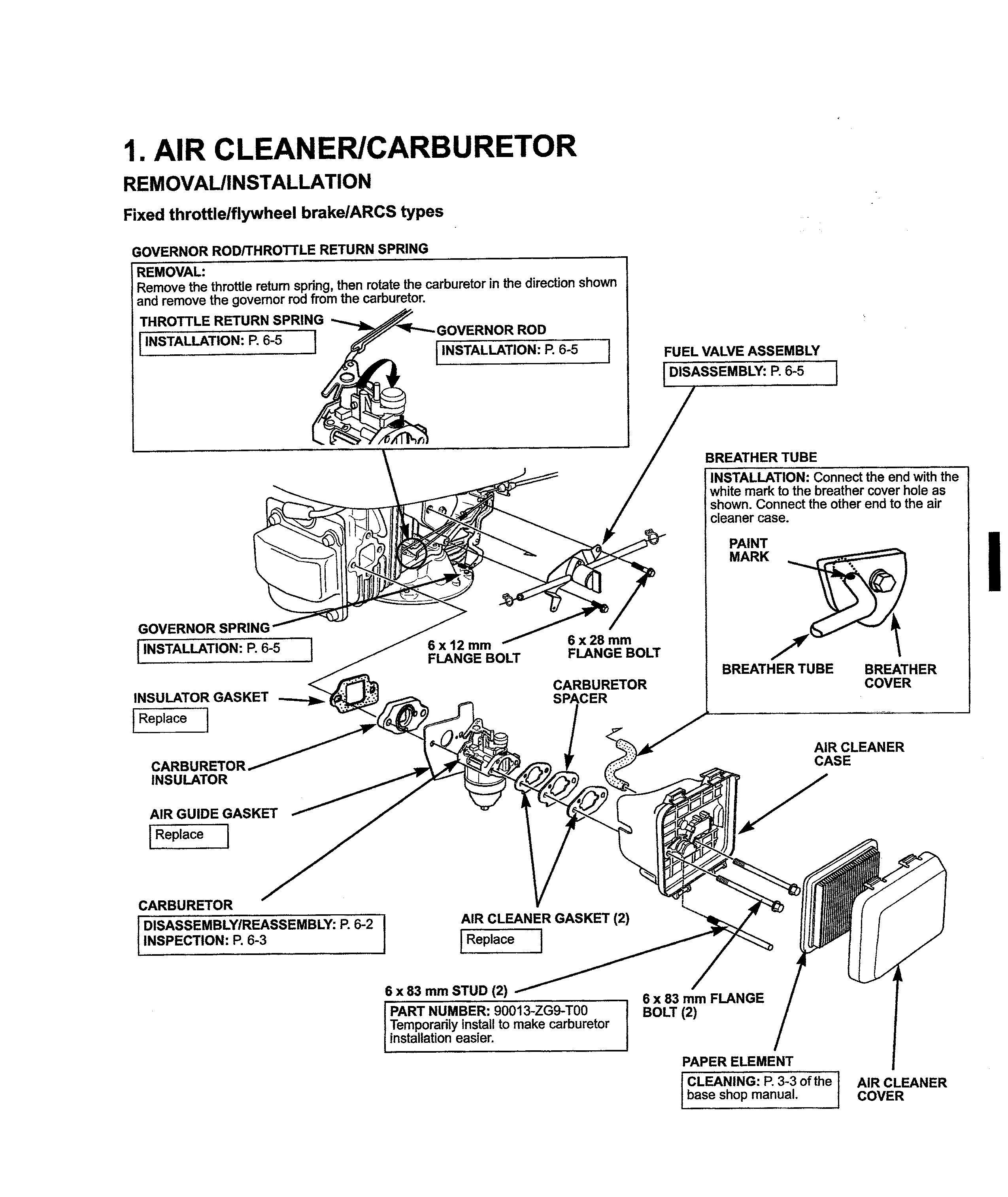 honda 160cc lawn mower engine manual