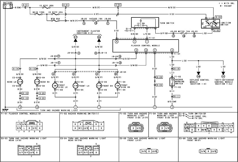 wiring diagram for tail light on a trailer the wiring diagram 2004 mazda trailer lights wiring diagram tail light wiring diagram