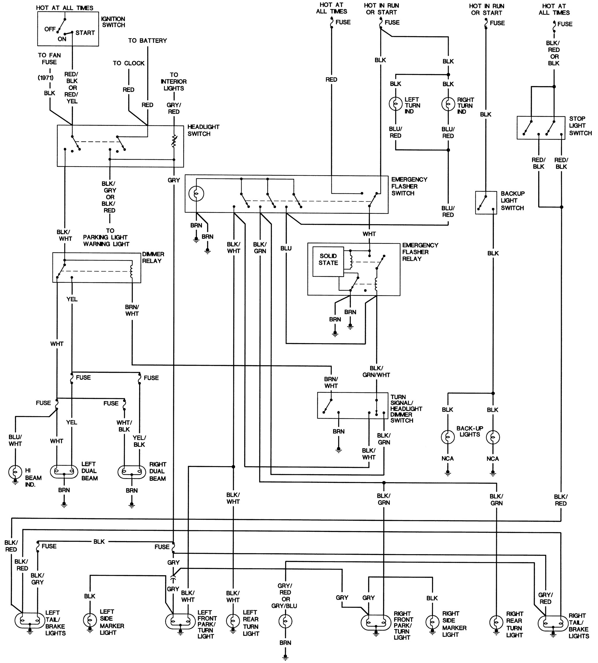 beetle wiring diagram vw wiring diagram turn signal hazard warning vw wiring diagram turn signal hazard warning lights work graphic
