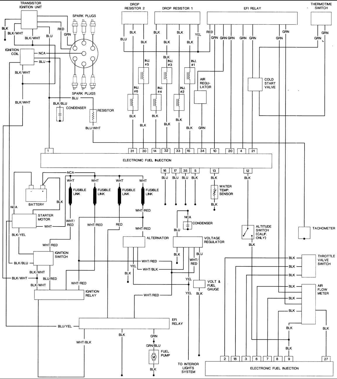 1976 280z wiring diagram
