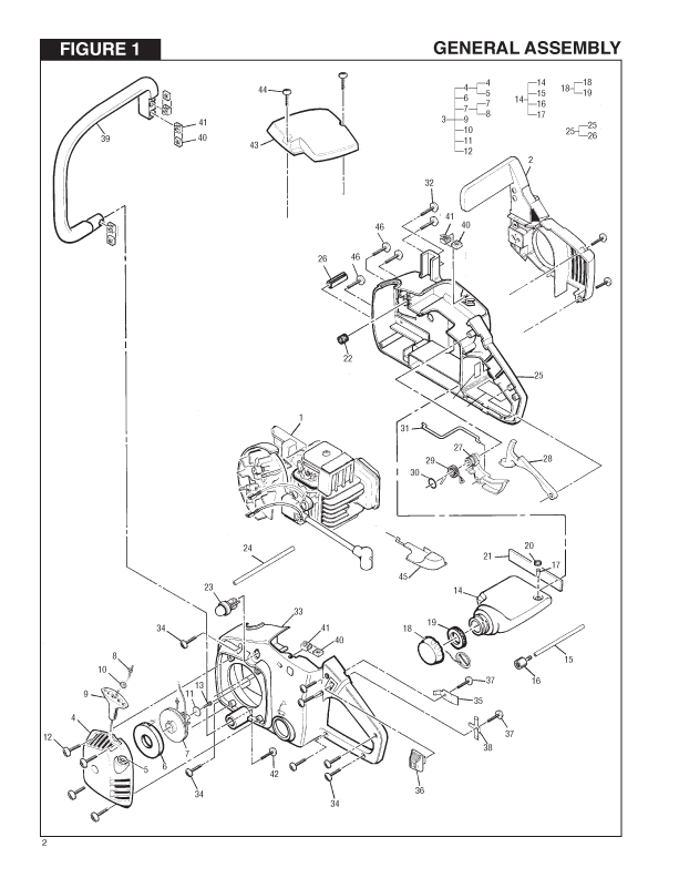 mcculloch mini mac chainsaw parts diagram  mini  auto