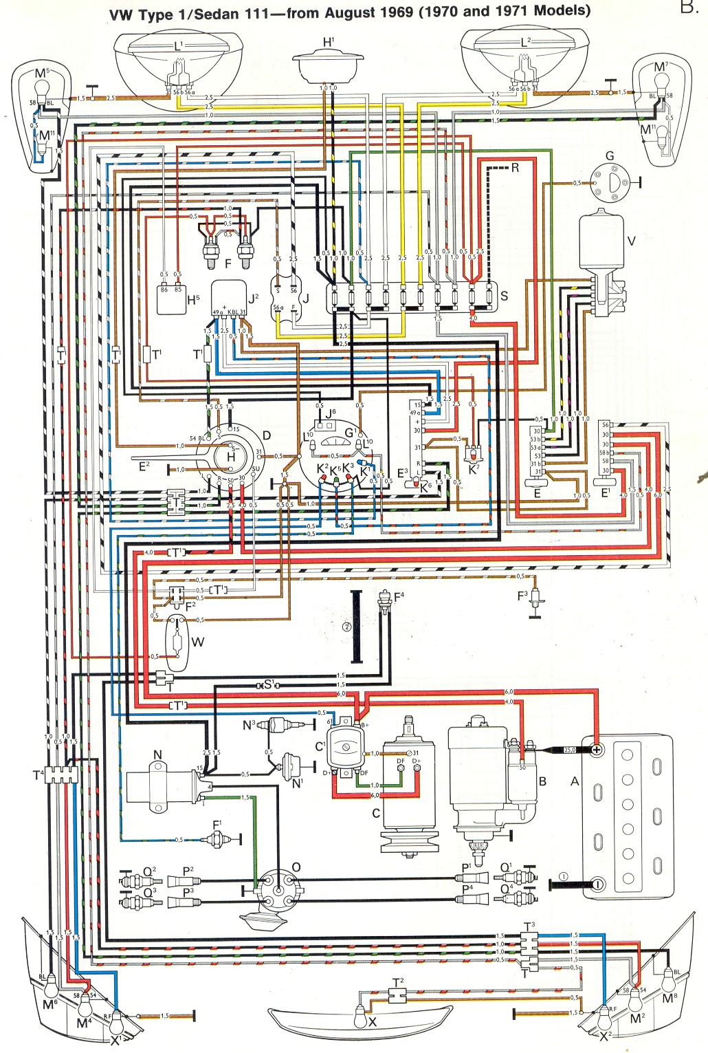 Wiring Diagram As Well Vw Beetle Fuse Box Diagram On 71 Vw Bus Fuse