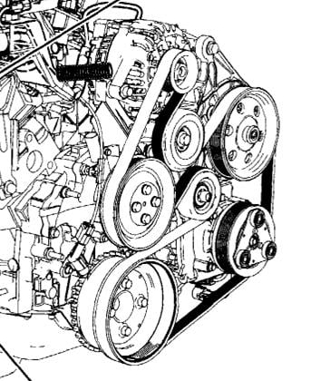 T673715 Serpentine belt diagram together with 2u8p1 Speed Sensor Located Change further Delco Alternator 3 Wire Plug Wiring Diagram also T1436631 Code p0715 input turbine speed sensor further T12308821 Serpentine belt diagram f 150. on ford windstar engine diagram