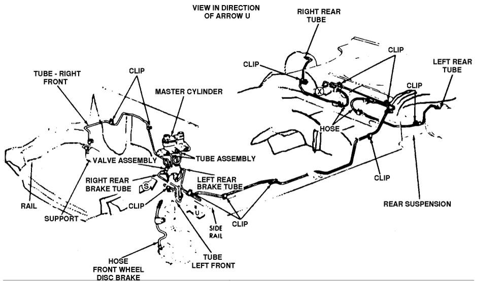 on 1985 lincoln 7 replacement of master cylinder and abs