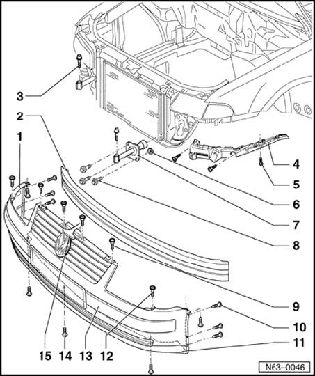 need instructions  2002 passat w8  front xeon bulb