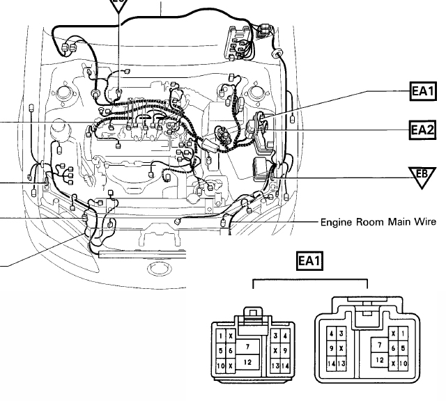lexus ls400 parts diagrams