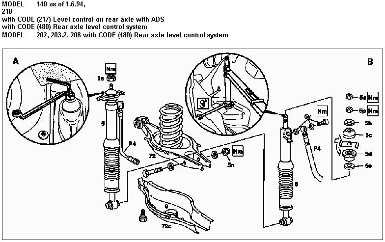 2003 mercedes e500 engine diagram