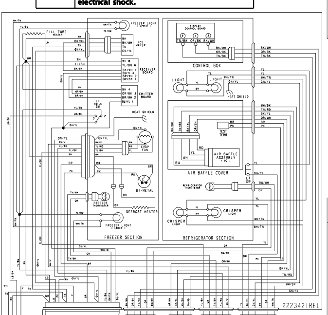wiring diagram for kitchenaid dishwasher – the wiring diagram, Wiring diagram