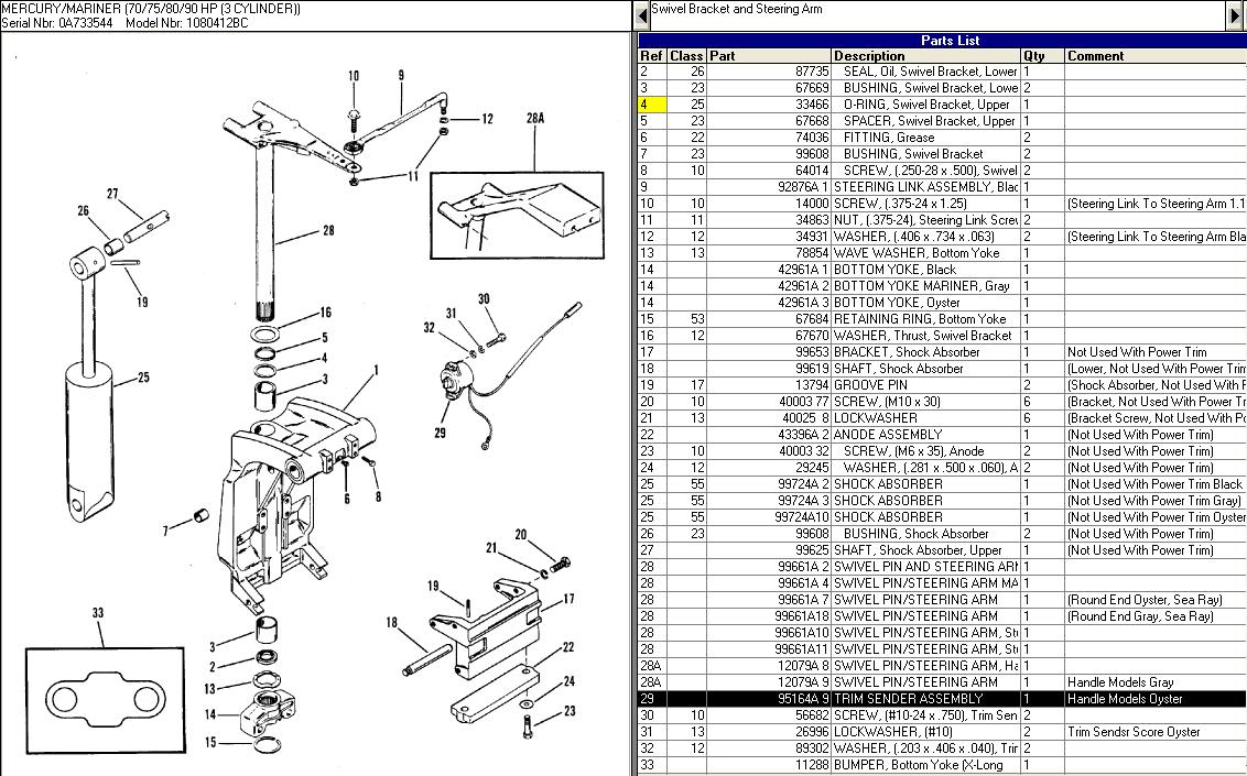 8 Hp Yamaha Outboard Wiring Diagram as well Parts together with 2i22n Hi Trying Find Year Mercury Outboard Cyl moreover Jet Pump  ponents as well Exploded View Of 350 Gm 1985 Small Block. on mercruiser 80 parts diagram