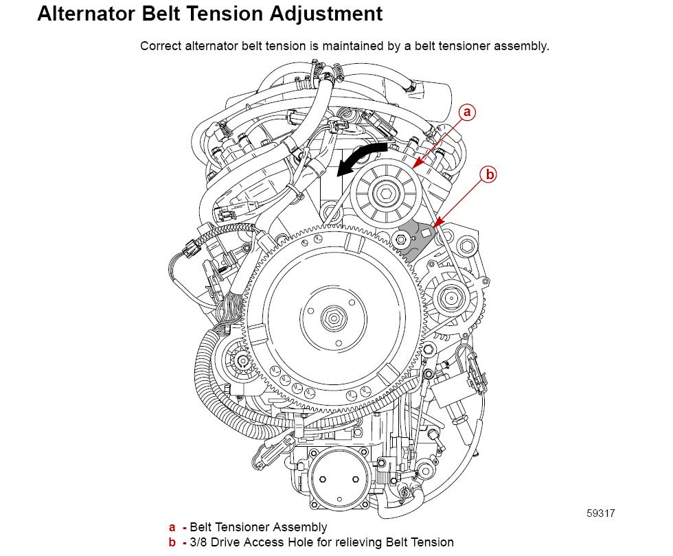service manual  how to adjust belt tension on a 2009 mazda