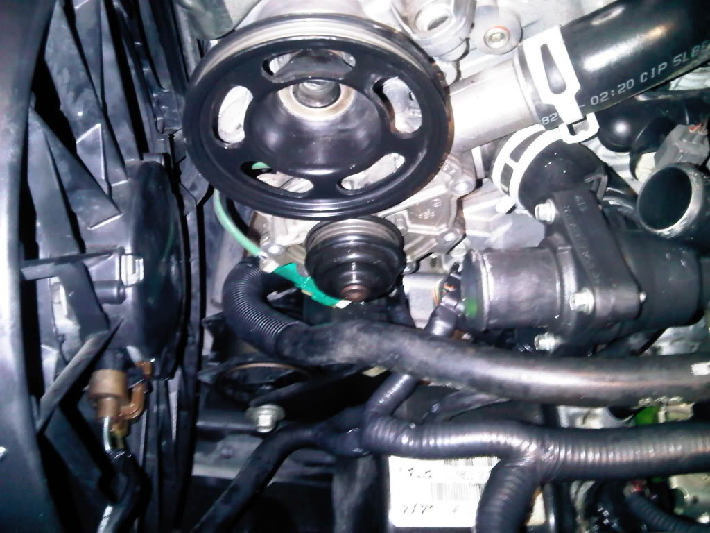 1147791 2006 Expy Eb Water Pump Job Lots Of Pics also 94 Honda Civic Dx Engine Diagram as well Ford 3 7 Engine Specs likewise Where Get High Output Alternator 974264 additionally Ford Taurus 2001 Ford Taurus 51. on 01 ford taurus belt diagram