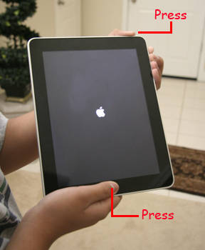 how to fix an ipad 2 that wont turn on