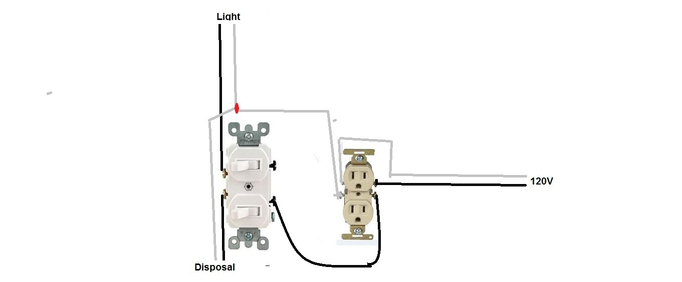 Wiring A Double Pole Light Switch Diagram Get Free Image