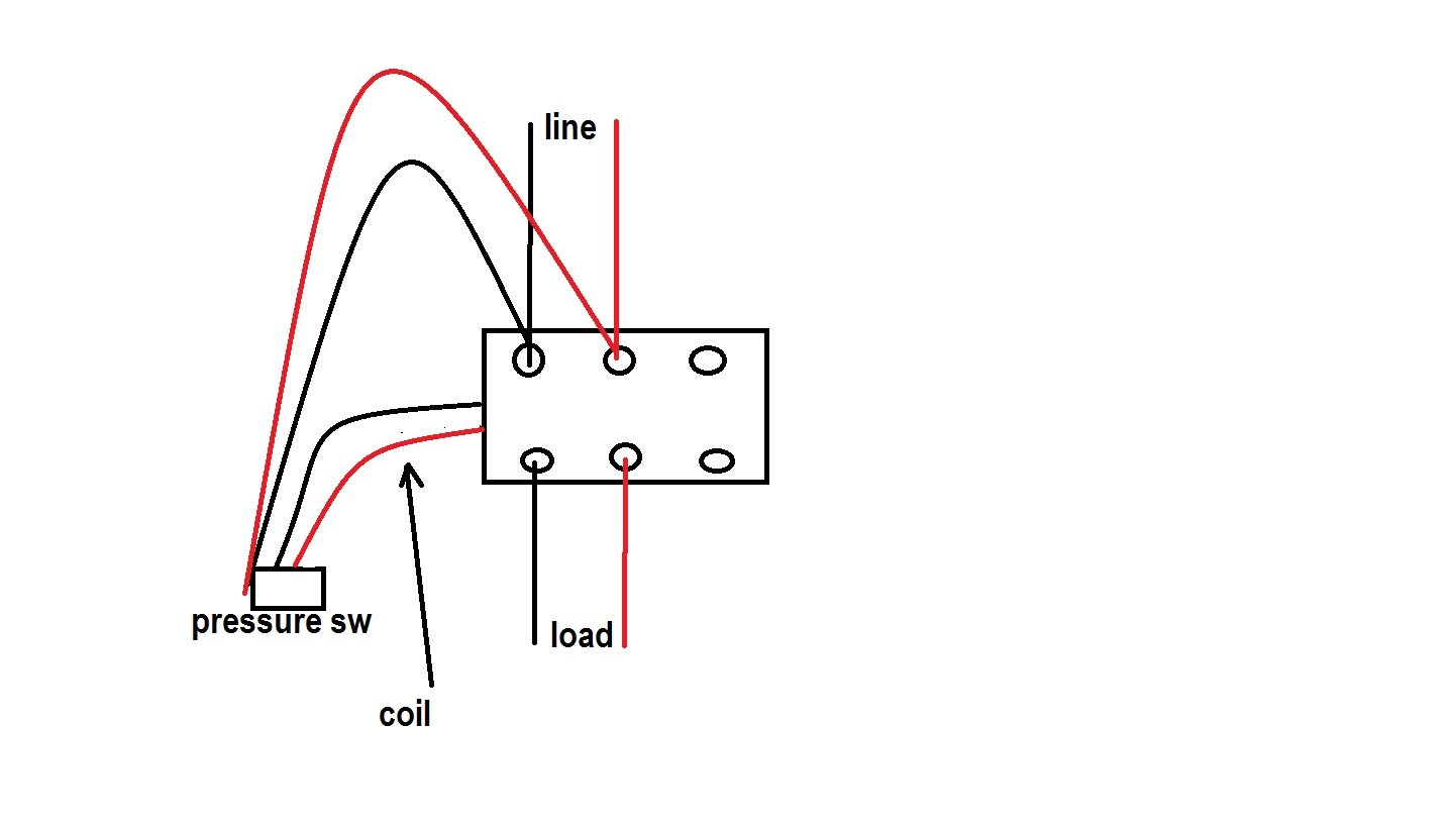 Magnetic Switch Wire Diagram 2 Schematics Wiring Diagrams 3 Reed How To A Eaton Cutler Hammer Style Pole Way Light