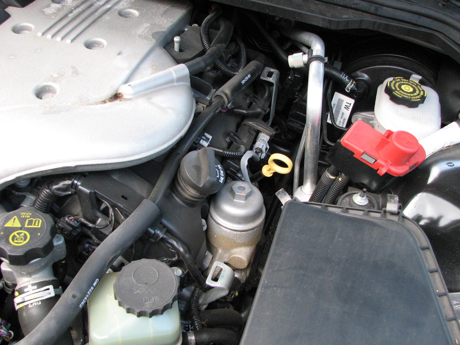 Cavalier oil filter location 2005 2005 cavalier starter for Motor oil for 2002 chevy cavalier
