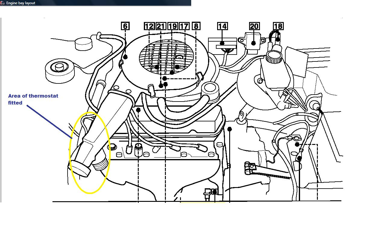Ford Fiesta Engine Layout Diagram